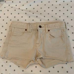 Off white Madewell Denim shorts